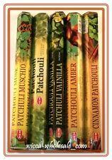 Hem Best Seller Patchouli Lovers Incense Stick:  5 x 20 = 100 Sticks  Patchouly