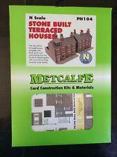 Metcalfe Kit PN104. Stone Built Terraced Houses.  N Scale.