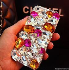 Cute Luxury Bling Jewelled Crystal Diamond Rhinestone Hard Back Phone Case Cover