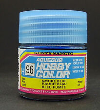 GUNZE SANGYO H96 Smoke Blue water based acrylic paint 10 ml