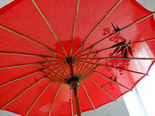 Japanese Small Rosso Parasol Ombrello Matrimonio Fancy Ragazza Cinese Dance Party