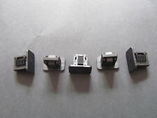 GENUINE NEW VW MK2 GOLF REAR HEADLINER RETAINER BOOT STRIP TRIM CLIPS X5