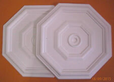 *Decorators Bargain* - 2 x Polystyrene Ceiling Rose 460mm   Slightly Shop Soiled