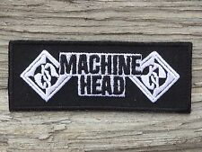 ECUSSON PATCH aufnaher toppa MACHINE HEAD métal musique music musica musiks rock