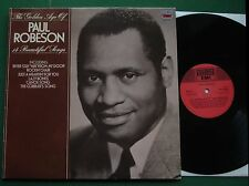 The Golden Age of Paul Robeson inc Lazy Bones / Rockin' Chair + MFP 5829 LP