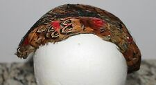 Vintage Beautiful Ladies Pheasant Feathers Bonnet/Hat Shabby Sheik