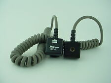 Nikon SC-17 Flash Cord - Clean - Free Shipping