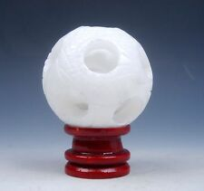 Marble Stone Hand Carved 3-Layers Dragon Balls Sphere w/ FREE STAND #08031507
