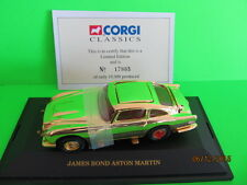 CORGI SPECIAL LIMITED EDITION JAMES BOND ASTON MARTIN 007 GOLD PLATED 96656
