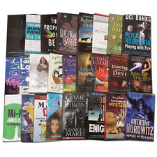 Joblots Wholesale of 25 Fiction Books Set Fantasy Stories Collection Pack