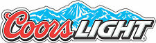 """Coors Light Beer  Bar Alcohol  Bumper sticker, wall , vinyl, bumper 5""""x 1.5"""""""
