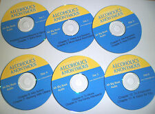 AA BIG BOOK AUDIO ALCOHOLICS ANONYMOUS BLUE CD COMPACT DISC FREE SHIPPING RARE