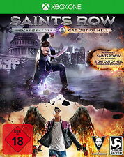 Saints Row 4 IV re-elected + GAT Out of Hell XBOX ONE NUOVO