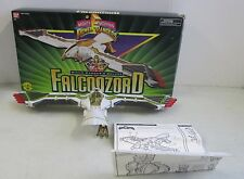 MIB 1995 BANDAI MIGHTY MORPHIN POWER RANGERS WHITE RANGERS DELUXE FALCONZORD