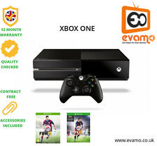 Microsoft Xbox One 500 GB Black Console with Fifa Games and Black Carbon Skin