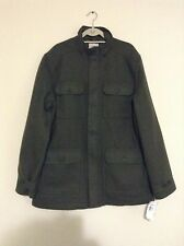Timberland Men's 2XL Mt. Hayes Wool Blend Forest Green Coat Jacket  - MSRP $228