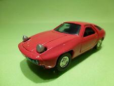 SAKURA 1:43 PORSCHE 928 - RED SUPER CAR - VERY GOOD CONDITION