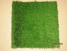 "Synthetic Artificial Outdoor Green Turf Grass Rug 24""x 24"" soil resistant waterp"