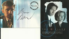 X-Files Season 4 & 5 Bruce Harwood AUTOGRAPH AUTO Mint A2 Card & Redemption Card