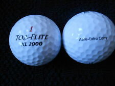 "55 top flite xl 2000 ""aero extra carry"" balles de golf - ""pearl/a"" grades"