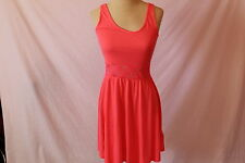 Women's Fiery Red/Orange  Lace Dress by H&M Divided - Size 6