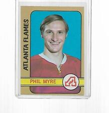 1972-1973 TOPPS HOCKEY PHIL MYRE ROOKIE #109