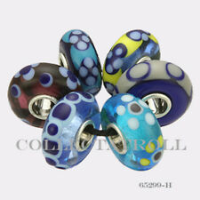Authentic Trollbeads Sterling Silver  Malawi Kit - 6 Beads 65299 *H*