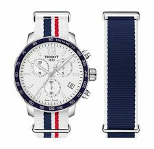 New Tissot Quickster Silver Dial Unisex Multi Strap Watch T0954171703709