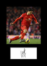LUIS SUAREZ #1 (Liverpool) Signed A5 Mounted Photo Print - FREE DELIVERY