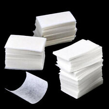 1000x Useful Wipes Pads Paper Nail Art Tips Polish Manicure Remover Cleaner Lint