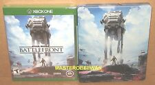 Xbox One Star Wars Battlefront + Steelbook & DLC Amazon Exclusive New Sealed