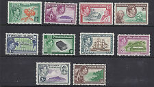 PITCAIRN ISLANDS 1940 KGVI set complete (SG 1-8 10 values) VF MH