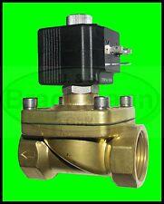 """Magnetventil SVS 3/8"""" 12V DC 0-7bar NC Viton Heizung Wasser Luft Industrie"""