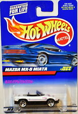 HOT WHEELS 1999 MAZDA MX-5 MIATA #1084 WHITE