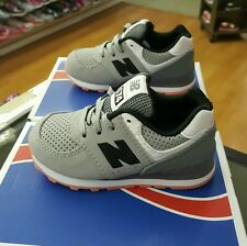 NEW BALANCE KL574BTI GREY/BLACK TODDLER US SZ 10