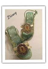 Tiana~LIGHT UP Jewel~Costume ~SHOES~ 12 ? Disney Shoes Pre Owned EUC