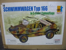 Dragon 1:6 Scale Schwimmwagen Typ 166 3 color camo finished model