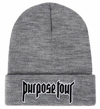 PURPOSE TOUR BEANIE HAT JUSTIN BIEBER PURPOSE BEANIE