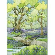 Derwentwater Diseños Primavera caminar largo Stitch Kit