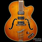 VINTAGE 1960S HOFNER ARCHTOP 463 S E3 HOLLOWBODY - RARE ELECTRIC ACOUSTIC GUITAR