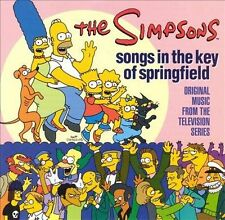 Songs in the Key of Springfield by The Simpsons (CD, Aug-1998, Rhino) REF BOX C4