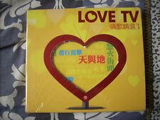 a941981 CD DVD Set TVB Stars Love TV 情歌精選 (3) 陳豪 黃宗澤 Ruth Tsang 曾路得 Elisa Chan 陳潔靈 鄭嘉穎 林保怡 吳卓羲 謝天華 徐子珊
