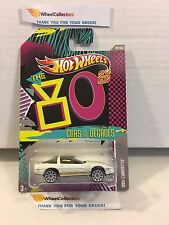 '80s Corvette * White * BASE ERROR * Hot Wheels Cars Of The Decades * H24
