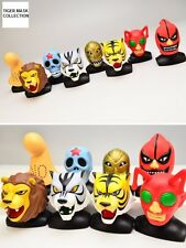 TIGER MASK MASKED WRESTLER COLLECTION BUSTS (UOMO TIGRE) TAKARA TOMY JAPAN