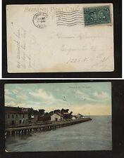 Canada  #97  on post  card   1908                 CR0304