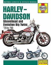 1970-1999 Harley Dyna Softail Haynes Repair Service Shop Workshop Manual 1731