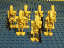 Lego Star Wars ejército - 7 x Battle Droid + 7 x arma (115)