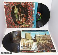 TUNES OF GLORY OST Scottish Pipes 2 LPs 1961 WWII Soundtrack BAGPIPES Scotland