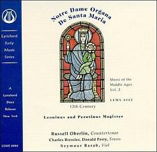 Music of the Middle Ages Vol. 2 - Notre Dame Organa De Santa Maria