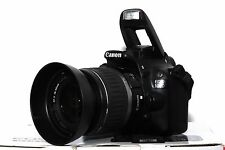 Canon EOS 100D 18 MP DSLR + Canon EF-S 18-55mm II Objektiv Live View Video OVP